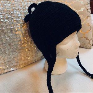 Black Sherpa Adventure Gear Wool Knit Hat Black